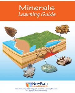 Minerals Student Learning Guide - Grades 6 - 10 - Print Version - Set of 10