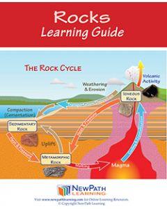 Rocks Student Learning Guide - Grades 6 - 10 - Print Version - Set of 10
