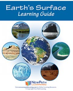 Earth's Surface Student Learning Guide - Grades 6 - 10 - Print Version - Set of 10