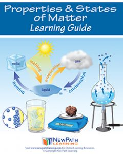 Properties & States of Matter Student Learning Guide - Grades 6 - 10 - Print Version - Set of 10