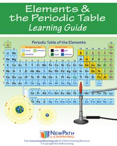Elements & the Periodic Table Student Learning Guide - Grades 6 - 10 - Downloadable eBook