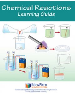 Chemical Reactions Student Learning Guide - Grades 6 - 10 - Print Version - Set of 10