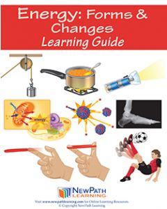 Energy: Forms & Changes Student Learning Guide - Grades 6 - 10 - Print Version - Set of 10