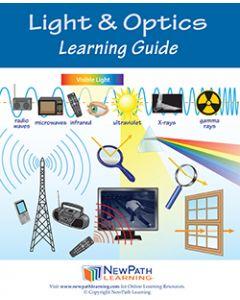 Light & Optics Student Learning Guide - Grades 6 - 10 - Downloadable eBook