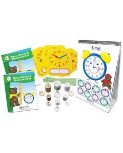 Time, Money & Measurement Activity Kit