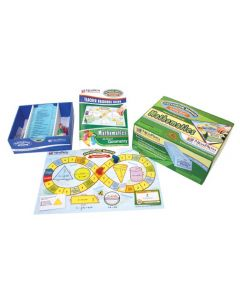 All About Geometry Curriculum Mastery® Game - Grades 3 - 6 - Class-Pack Edition