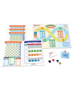 Hundred Counting Chart Learning Center, Gr. 1-2