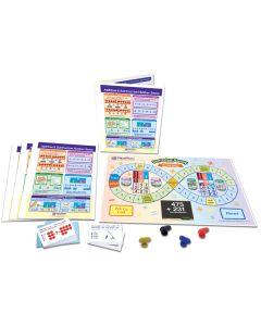 Adding & Subtracting Number Sense Learning Center, Gr. 3-5