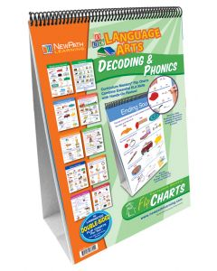Decoding & Phonics  Flip Chart Set, Grades 1-3