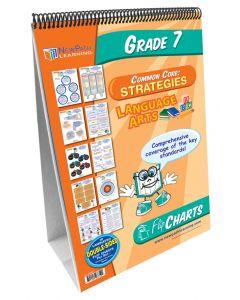 ELA Common Core Curriculum Mastery® Flip Chart Set - Grade 7