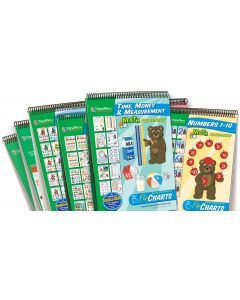 Math Readiness Flip Chart Set - Set of 7 - Early Childhood
