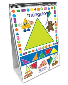 Exploring Shapes Curriculum Mastery® Flip Chart Set - Early Childhood - Spanish Version