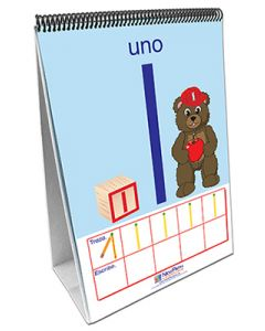 Numbers 1 - 10 Curriculum Mastery® Flip Chart Set - Early Childhood - Spanish Version