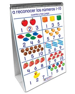 Number Sense Curriculum Mastery® Flip Chart Set - Early Childhood - Spanish Version