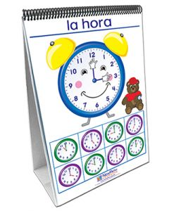 Time, Money & Measurement Curriculum Mastery® Flip Chart Set - Early Childhood - Spanish Version