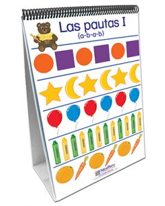 Patterns & Sorting Curriculum Mastery® Flip Chart Set - Early Childhood - Spanish Version