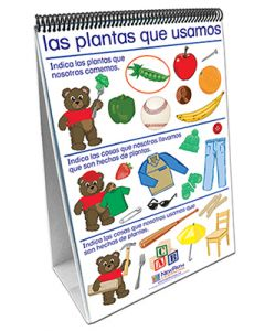 All About Plants Curriculum Mastery® Flip Chart Set - Early Childhood - Spanish Version