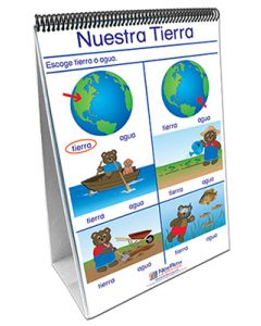 Our Earth Curriculum Mastery® Flip Chart Set - Early Childhood - Spanish Version