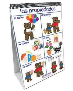 Exploring Matter Curriculum Mastery® Flip Chart Set - Early Childhood - Spanish Version