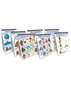 Science Readiness Flip Chart Set - Set of 7 - Early Childhood - SPANISH EDITION