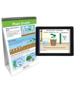 Growth and Development of Plants and Animals Flip Chart Set With MULTIMEDIA Lesson