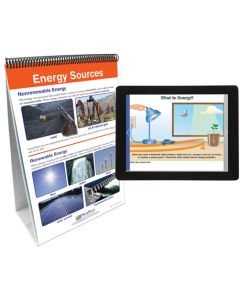 All About Energy Flip Chart Set With MULTIMEDIA Lesson