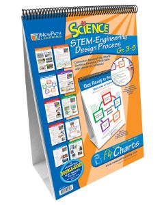 STEM Engineering Design Process Flip Chart Set - Gr. 3-5