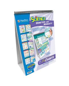 Genetics & Heredity Curriculum Mastery® Flip Chart Set - Grades 6 - 10