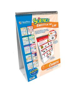 Safety in the Lab Curriculum Mastery® Flip Chart Set - Grades 5 - 10