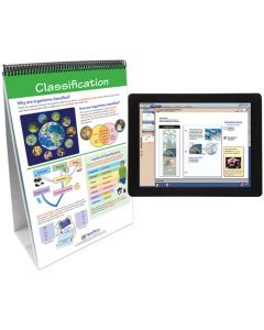 The Six Kingdoms Curriculum Mastery® Flip Chart Set With MULTIMEDIA Lesson