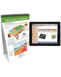 Minerals Curriculum Mastery® Flip Chart Set With MULTIMEDIA Lesson