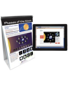 Sun-Earth-Moon System Curriculum Mastery® Flip Chart Set With MULTIMEDIA Lesson