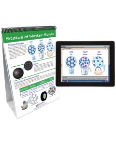 Properties & States of Matter Curriculum Mastery® Flip Chart Set With MULTIMEDIA Lesson