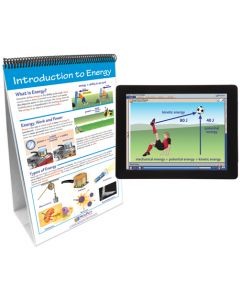 Energy - Forms and Changes Curriculum Mastery® Flip Chart Set With MULTIMEDIA Lesson