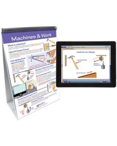 Work, Power and Simple Machines Curriculum Mastery® Flip Chart Set With MULTIMEDIA Lesson