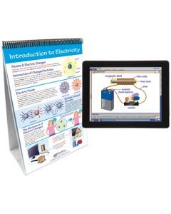 Electricity and Magnetism Curriculum Mastery® Flip Chart Set With MULTIMEDIA Lesson