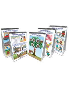 Social Studies Readiness Flip Chart Set - Set of 5 - Early Childhood