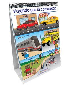 My Community - Social Studies Curriculum Mastery® Flip Chart Set - Early Childhood - Spanish Version