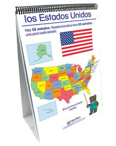 Geography - Social Studies Curriculum Mastery® Flip Chart Set - Early Childhood - Spanish Version