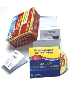 Mastering English as a Second Language - Spanish Study Cards
