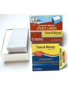 Time & Money Skills - Grades 2 - 4 Study Cards