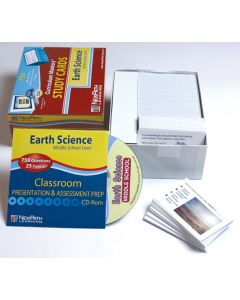 Middle School Earth Science Study Cards