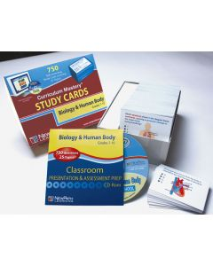 Biology & the Human Body - Grades 6 - 10 Study Cards