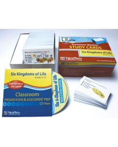 Six Kingdoms - Grades 5 - 9 Study Cards