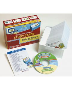High School Biology Study Cards