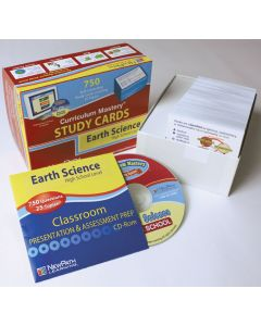High School Earth Science Study Cards