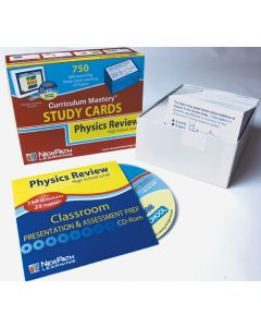 High School Physics Study Cards