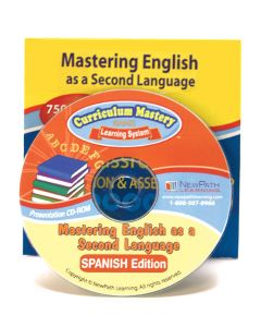 Mastering English As a Second Language - Spanish Interactive Whiteboard CD-ROM - Site License