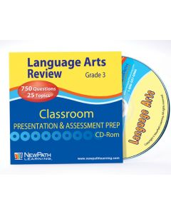 Grade 3 Language Arts Interactive Whiteboard CD-ROM - Site License