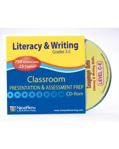 Mastering Literacy & Writing Skills Interactive Whiteboard CD-ROM - Grades 3 - 5 - Site License
